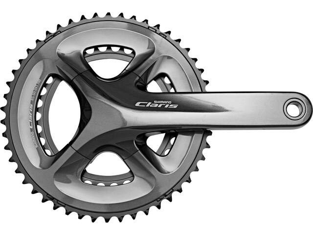 Shimano Claris FC-R2000 Crank Set 2x8-speed 50-34 teeth grau